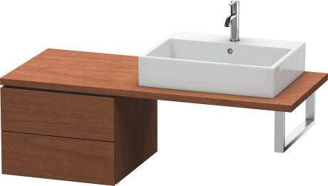 Low Cabinet For Console, American Walnut (real Wood Veneer)