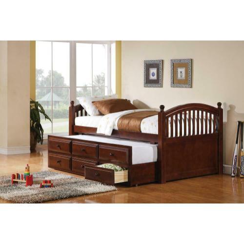 Captain's Bed W/ Trundle