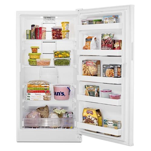 Maytag - 16 cu. ft. Frost Free Upright Freezer with FastFreeze Option