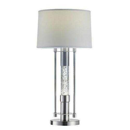 ACME Olsen Table Lamp - 40155 - Brushed Nickel