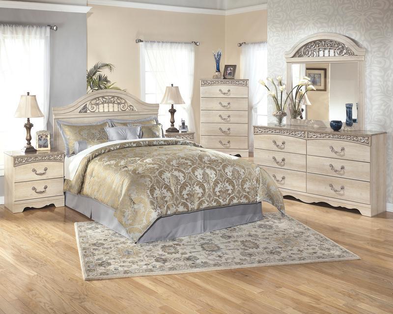 B196b1 In By Ashley Furniture In Phoenix Az Catalina Antique