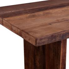 "See Details - Barnwood 72"" Gathering Table Natural"