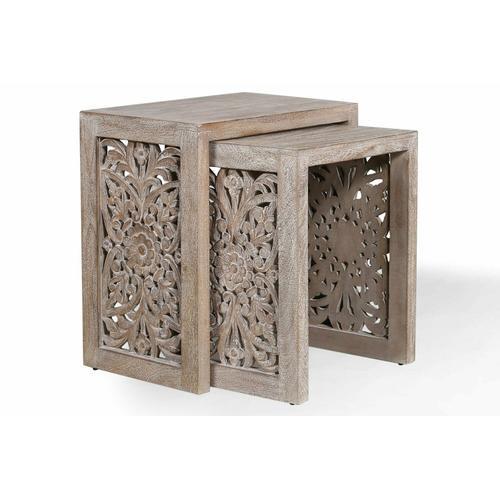 Parker House - CROSSINGS EDEN Chairside Nesting Table