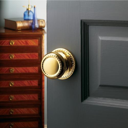 Baldwin - Lifetime Polished Brass 5064 Estate Knob