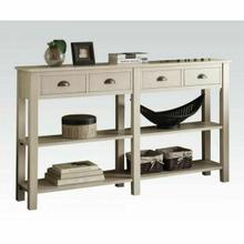 ACME Galileo Console Table - 97250 - Cream