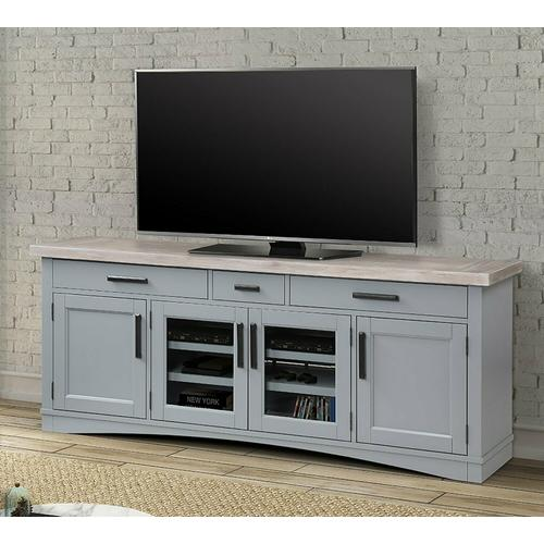 See Details - AMERICANA MODERN - DOVE 76 in. TV Console