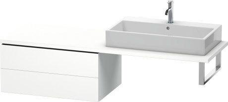 Low Cabinet For Console, White Matte