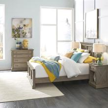 Mountain Lodge Queen Bed; Night Stand; & Chest