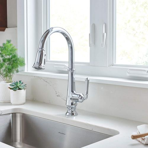 American Standard - Delancey Pull-Down Kitchen Faucet  American Standard - Polished Chrome