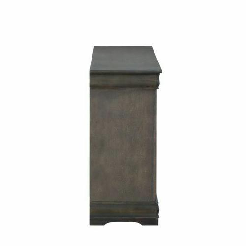 ACME Louis Philippe Dresser - 26795 - Dark Gray
