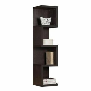 ACME Carmeno Bookcase - Large S Shelf - 92068 - Espresso