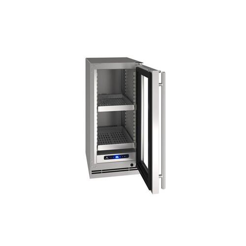 "15"" Refrigerator With Stainless Frame Finish (115 V/ 60 Hz Volts / 60 Hz Hz)"