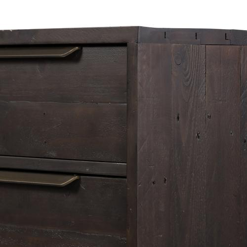 Wyeth 3 Drawer Dresser-dark Carbon