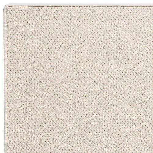 Capel Rugs - White Wicker-Serged - Rectangle - Custom