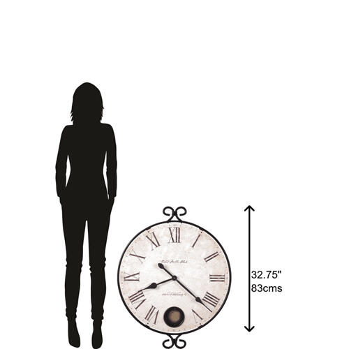 Howard Miller Magdalen Oversized Wall Clock 625310