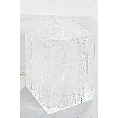 Arctic Chairside Table