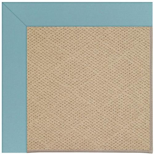 """Creative Concepts-Cane Wicker Canvas Mineral Blue - Rectangle - 24"""" x 36"""""""