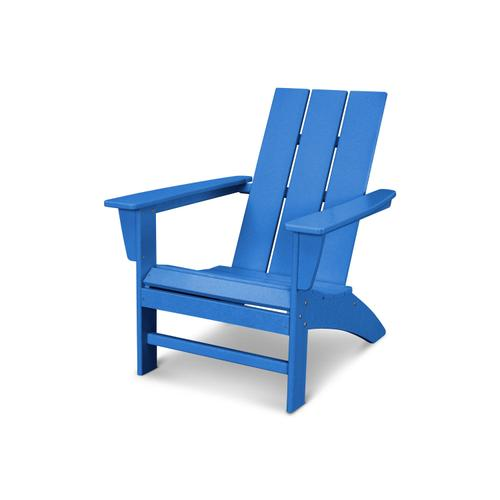 Pacific Blue Modern Adirondack Chair