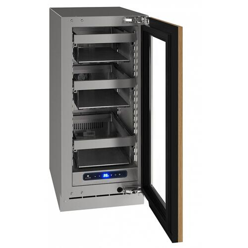 "U-Line - Hre515 15"" Refrigerator With Integrated Frame Finish (115 V/60 Hz Volts /60 Hz Hz)"