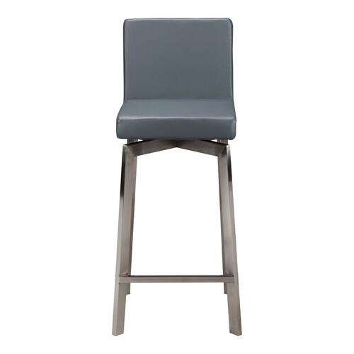 Giro Swivel Barstool Grey