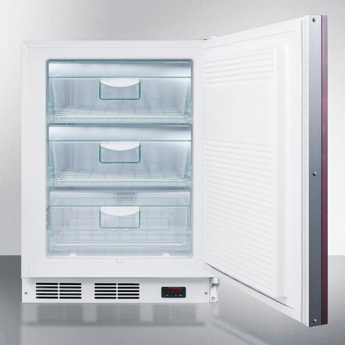 ADA Compliant Built-in Medical All-freezer Capable of -25 C Operation; Door Accepts Fully Overlay Panels