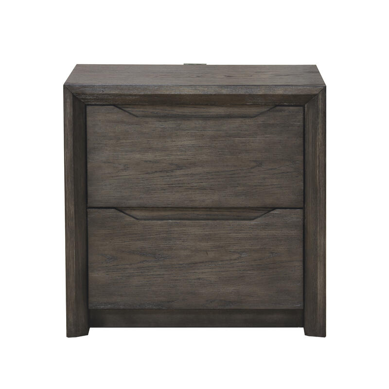 Java Nightstand in Gray