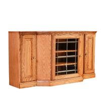 See Details - Forest Designs Traditional TV Cart: 56W X 30H X 18D