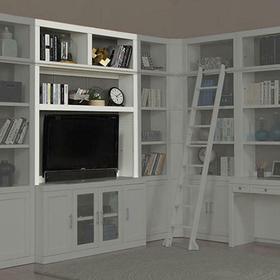 CATALINA 56 in. Bookcase TV Hutch