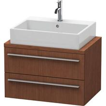 Vanity Unit For Console Compact, American Walnut (real Wood Veneer)