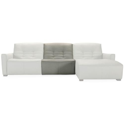 Living Room Reaux 5-Piece Power Recline Sectional w/3 Power Recliners