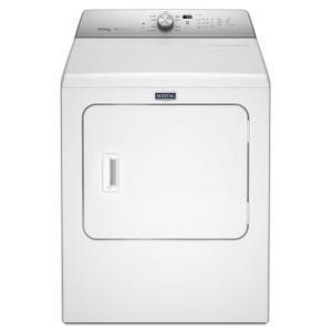 Large Capacity Gas Dryer with Steam-Enhanced Cycles - 7.0 cu. ft. White -
