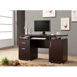 See Details - Cappuccino Office Desk