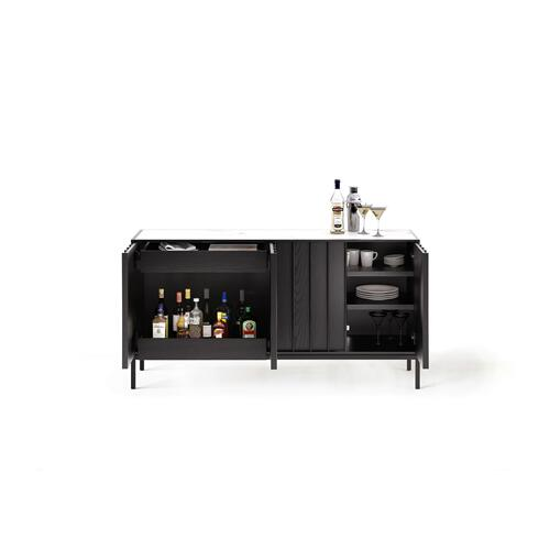BDI Furniture - Cosmo 5729 Storage Console in Ebonized Ash