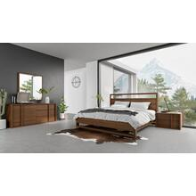 View Product - Nova Domus Berlin - Modern Walnut Bedroom Set