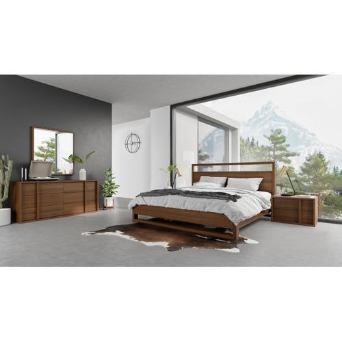 VIG Furniture - Nova Domus Berlin - Modern Walnut Bedroom Set