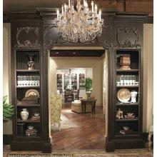 "Promenade Doorway 36"" W/bookcases"