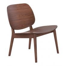 Priest Lounge Chair Walnut (set Of 2)