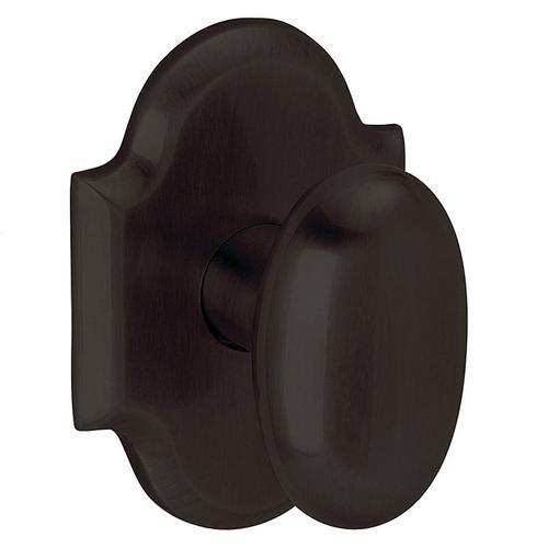 Oil-Rubbed Bronze 5024 Oval Knob