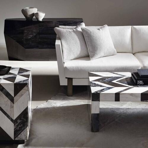 Bernhardt Interiors - Meridian Cube Table