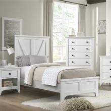 See Details - Tahoe Youth Twin Panel Bed  Sea Shell