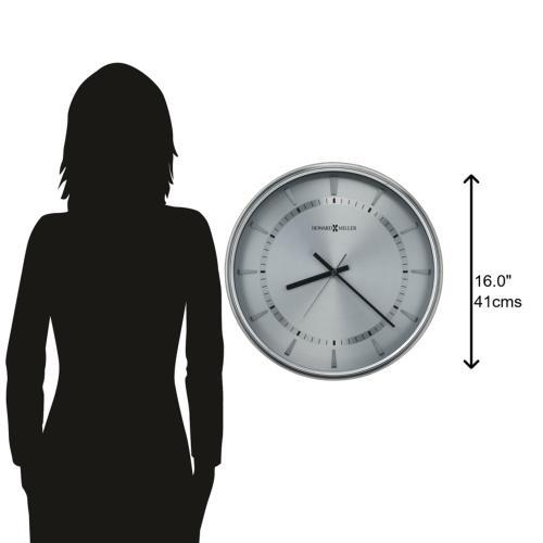 Howard Miller Chronos Watch Dial III Oversized Metal Wall Clock 625690