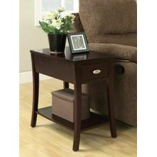 ACME Mansa Side Table - 80295 - Espresso