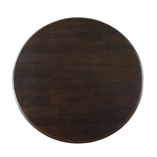 """Nimes 72"""" Round Dining Table Vintage Java"""