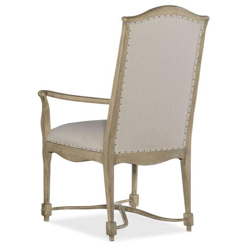 Dining Room Ciao Bella Upholstered Back Arm Chair - 2 per carton/price ea