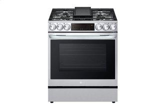 6.3 cu ft. Smart Wi-Fi Enabled ProBake Convection™ InstaView™ Gas Slide-in Range with AirFry