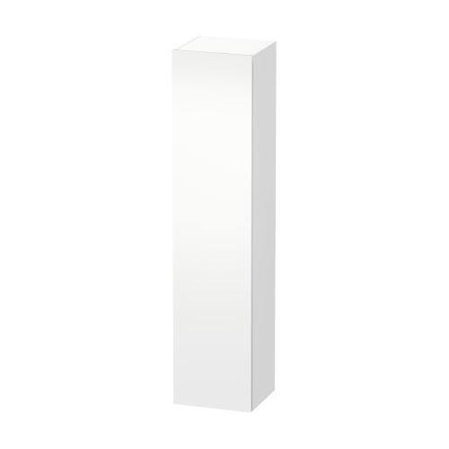 Tall Cabinet, White Matte