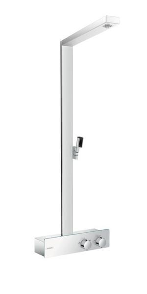 Chrome Showerpipe without Shower Components Product Image
