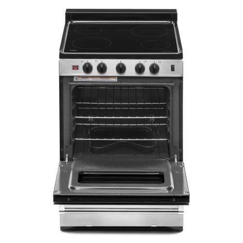 Whirlpool - 24-inch Freestanding Electric Range with Upswept SpillGuard™ Cooktop