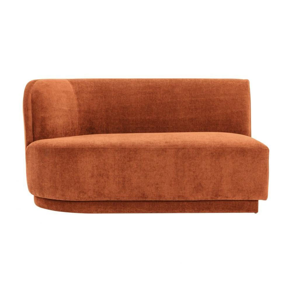 See Details - Yoon 2 Seat Sofa Left Rust