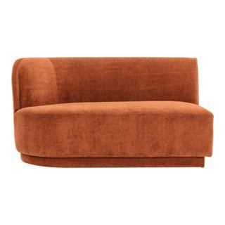 Yoon 2 Seat Sofa Left Rust